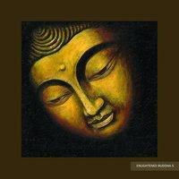 Unframed Enlightened Buddha Painting