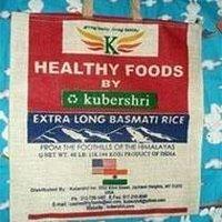 Jute Rice Packaging Bags