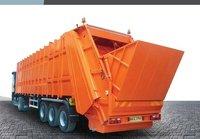Rear Loading Waste Transfer Semi-Trailer