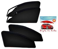 Style In Ride Zipper Magnetic Car Sun Shades - Set Of 4