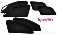 Style In Ride Zipper Magnetic Car Sun Shades - Set Of 6
