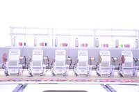Commercial Multi Needle Embroidery Machine
