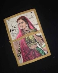 Painted Cover Notebook