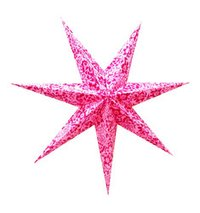 Painted Paper Star