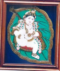 Gopala Tanjore Painting