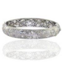 Diamond And White Gold Jewellery Bangles