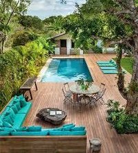 Swimming Pool Landscaping Services