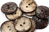 Coconuts Shell Button Blanks