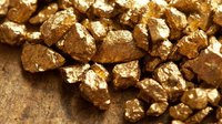 Natural Gold In Dust Form And Bar For Gold Jewelries