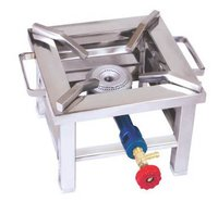 Square S.S. Canteen Gas Burner