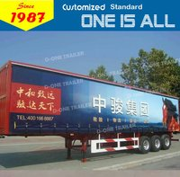 Enclosed Cargo Van Semi Trailer