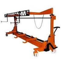 Twin Warp Beam Trolley With Harness Mounting Arrangement
