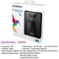 Adata Hard Disk Usb 1 Tb Hd650