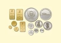 Gold And Silver Coin