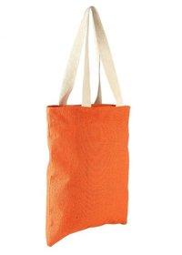 Plain Orange Long Jute Bag in Bengaluru