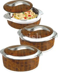 Sweet Hot Pot / Casserole 3 And 4 Pcs Set