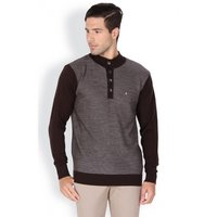 Structured Regular Fit Night Life Sweater