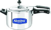 5l Inner Lid Type Khaitan Pressure Cooker Works On Gas And Induction