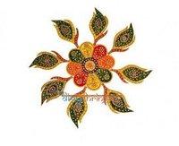 Leaves Design Rangoli