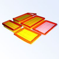 Panel Type Pu Filters