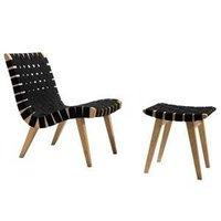Jens Risom Lounge Chair Oak