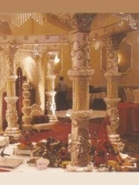 Wedding Round Mandap