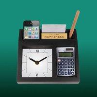 Desk Clock With Calculator
