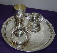 Hallmarked Silver Dinner Set