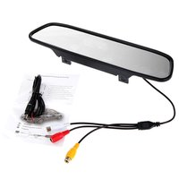 4.3-Inch Universal Rear-View Mirror Monitor With 16:9/4:3 Manual Switching