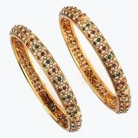 Multicolour Traditional Bangles