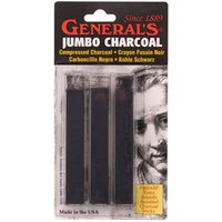 Generals Jumbo Compressed Charcoal Sticks