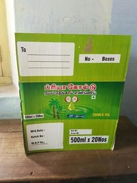 Edible Oil Packaging Boxes