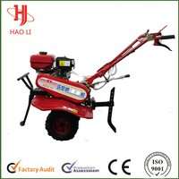 6.5hp Small Size Chain Mini Gasoline Tiller With Ce Certificate And Iso 9001