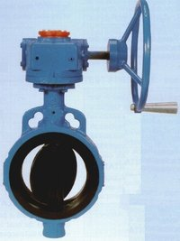 Audco (L&T) Slim Seal Butterfly Valve Gear Operated