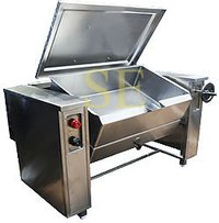 Tilting Boiling Pan Steam Operation
