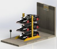 Three Level Car Parking Systems