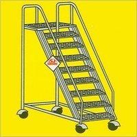 Aluminium Deluxe Wide Step Ladders