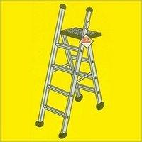 Aluminium Ladders Cum Stools