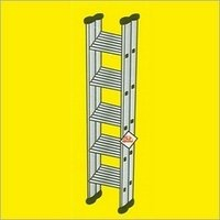 Aluminum Wide Step Ladders