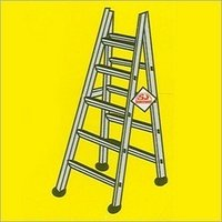 Double Sided Aluminium Ladders