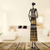 F- Side Doll Emb - Decorative Figurine