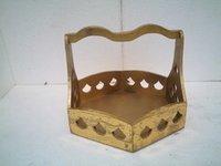 Wooden Designer Basket