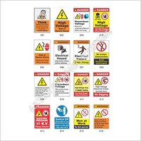 Electrical Safety Warning Labels