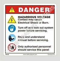 Electrical Warning Stickers