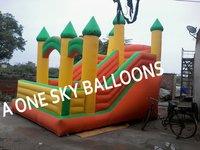 Sliding Jumping Castle Bounce