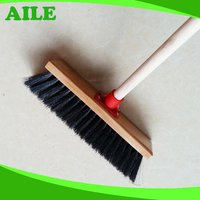 Africa Market Hard Broom With Wooden Pole