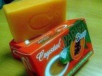 Crystal Papaya Soap