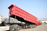Wheat Dump Truck Semi Trailer