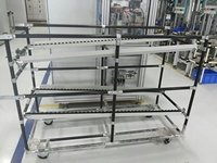 ESD FIFO Rack with ESD Rollers