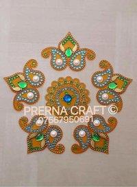 Decorative Acrylic Rangoli